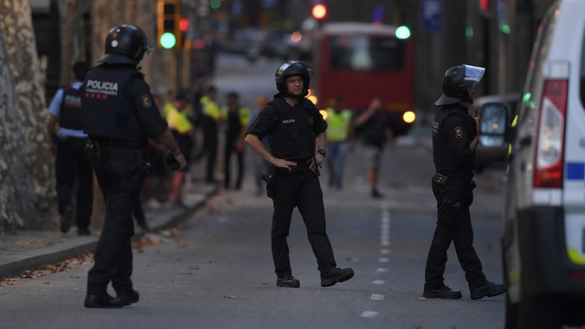 Policiers Espagne