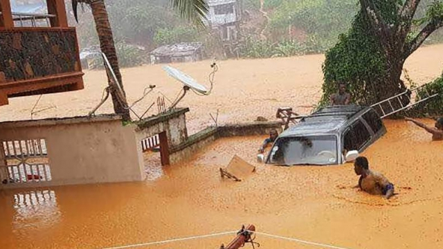 Sierra Leone-intempérie