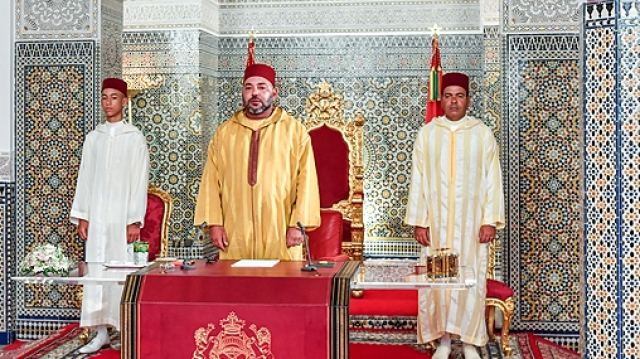 roi mohammed VI discours 2017