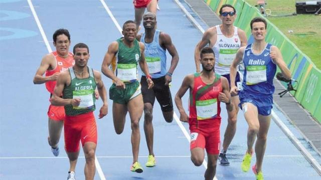 Marocains-mondiaux d'athlétisme