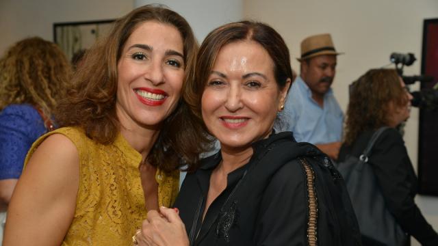 Nadia Amor et Maître Houria Tazi Sadik