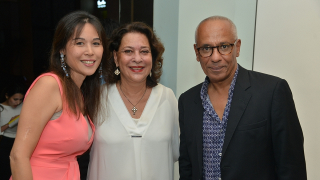 Noelle Bouayad, Aicha Amor et Yamou.
