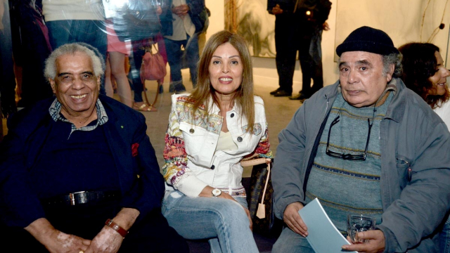 Houssein Talal, Rabia Arroussi et Mohamed Abouelouakar