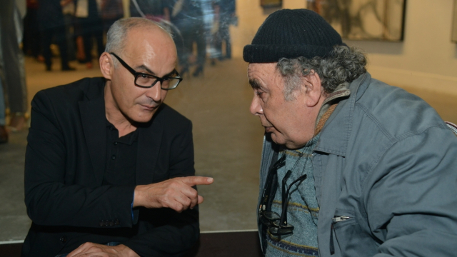 Mohamed El Baz et Mohamed Abouelouakar