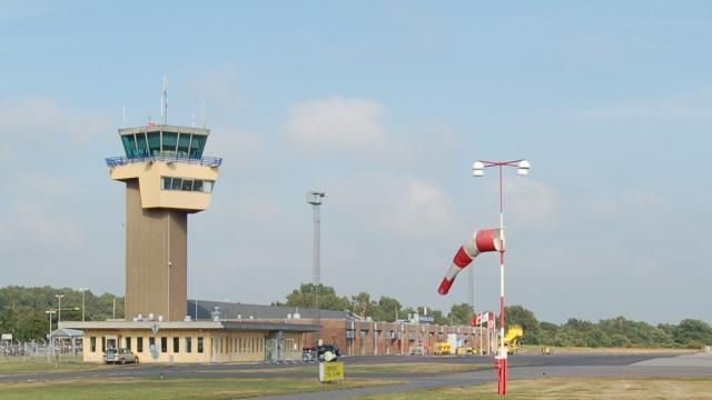 l'aéroport de Bornholm
