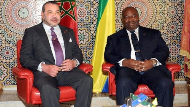 Mohammed VI et Ali Bongo