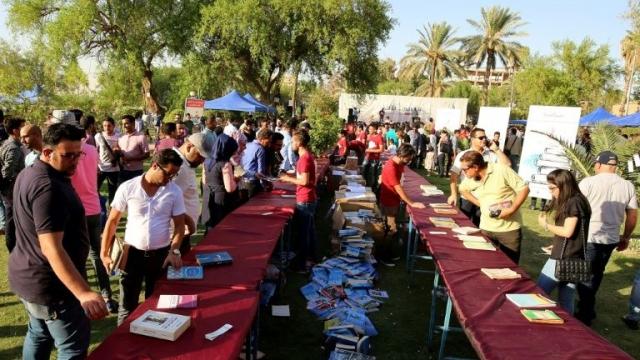 Festival du livre à Bagdad