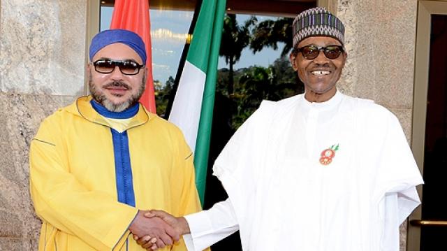 Mohammed VI-Muhammadu Buhari