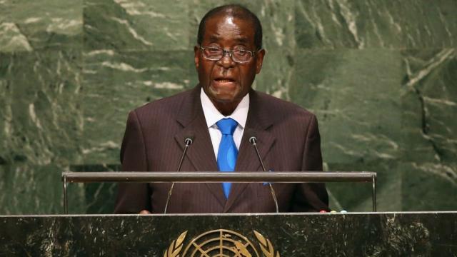 Mugabe à l'ONU