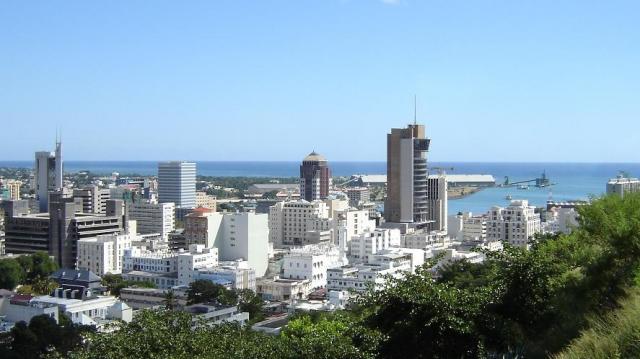 Port Louis capitale de Maurice
