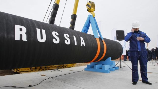Terminal Gaz Russie