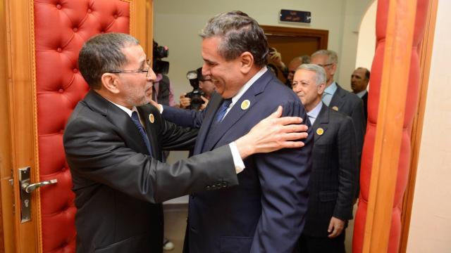 Saâd Eddine El Othmani Aziz Akhannouch