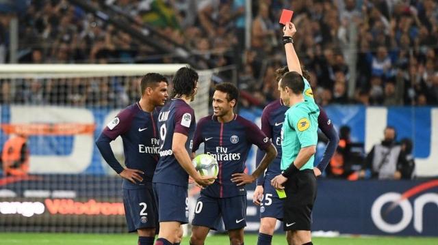 Carton rouge Neymar