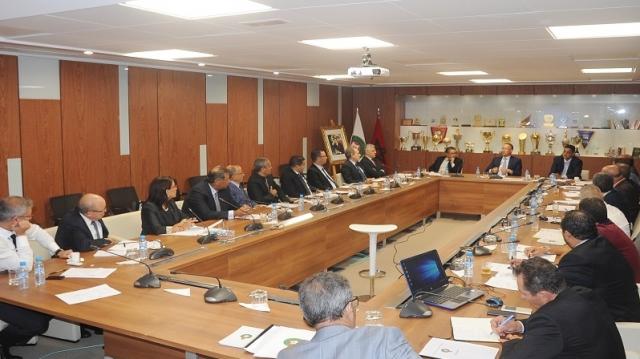 Réunion du Comité directeur de la FRMF le 3-10-2017
