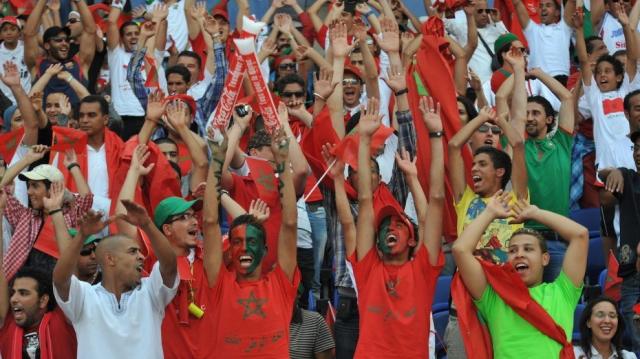 Supporters de la Diaspora marocaine