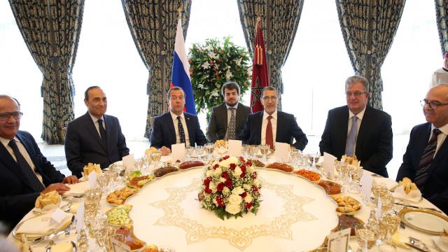 dejeuner Medvedev