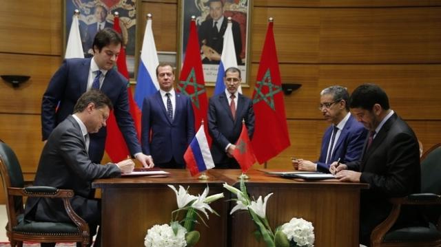 signature accord maroc russie