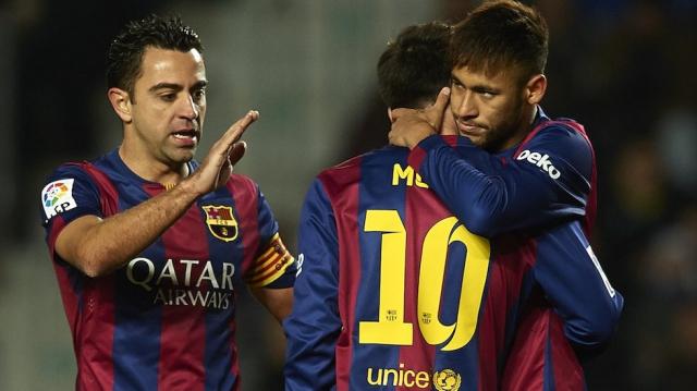 neymar, Xavi, Messi