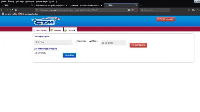 CTM site