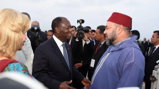 Mohammed VI et Alassane Ouattara