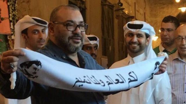 Mohammed VI au Qatar