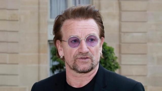 Bono, chanteur U2