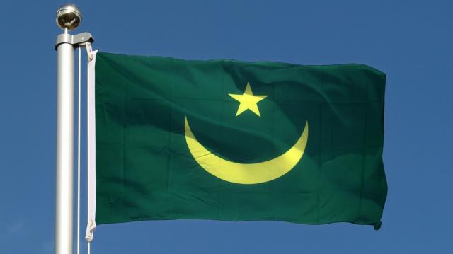 drapeau mauritanien