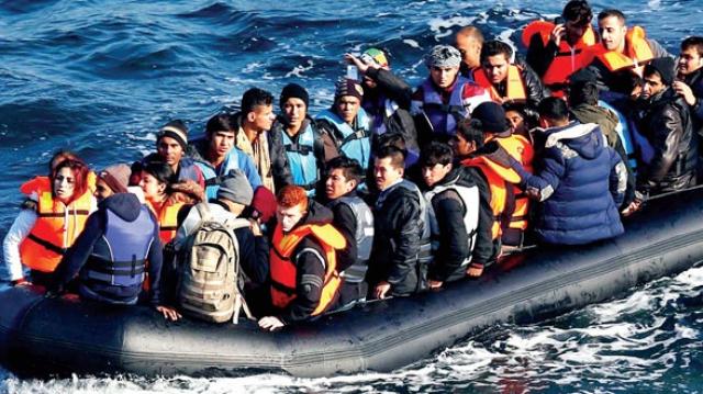 Harragas - Algériens - Migrants -