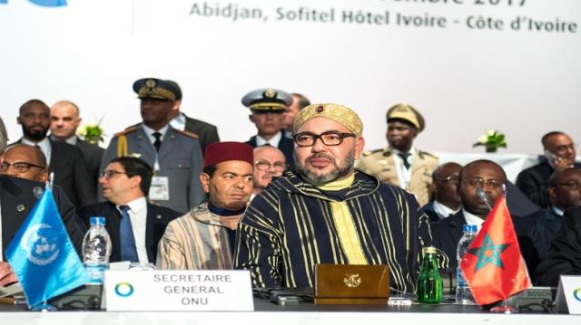 Roi Mohammed VI Abidjan
