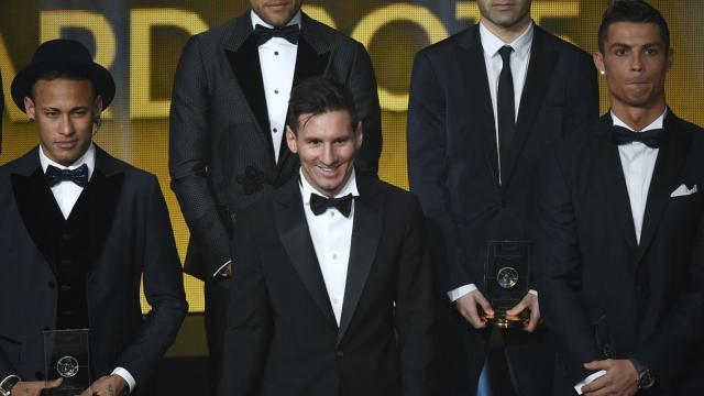 Ronaldo, Messi et Neymar sont visés par Daech