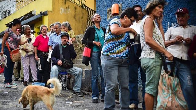 Venezuela pauvreté