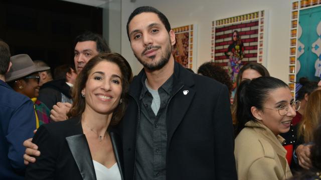 Nadia Amor et Othmane Alami Lazraq
