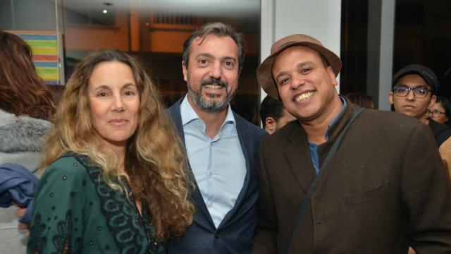 Meryem Sebti, Omar Yaakoubi et Yassine Balbzioui