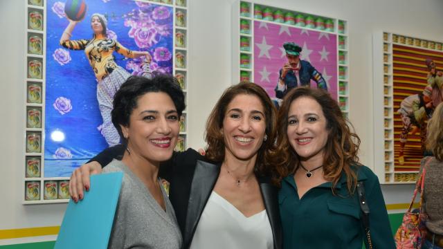 Maria Naciri, Nadia Amor et Yasmine Lahlou