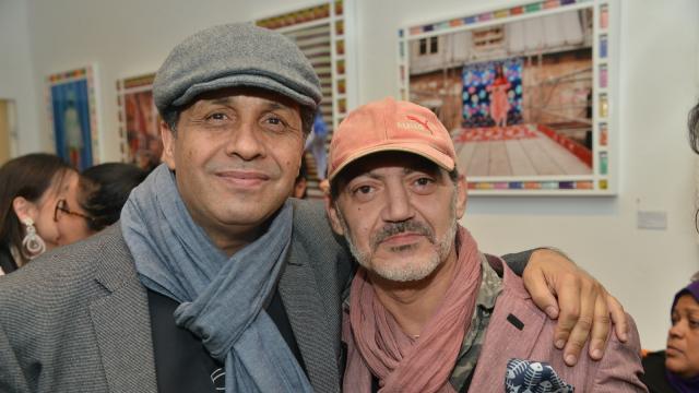 Noureddine Khmari et Jamal Boushaba