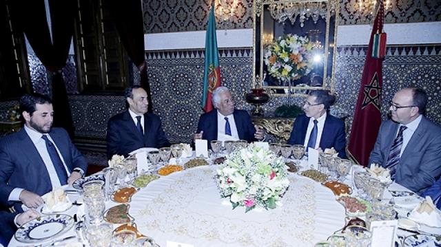 Dîner 1er ministre portugais