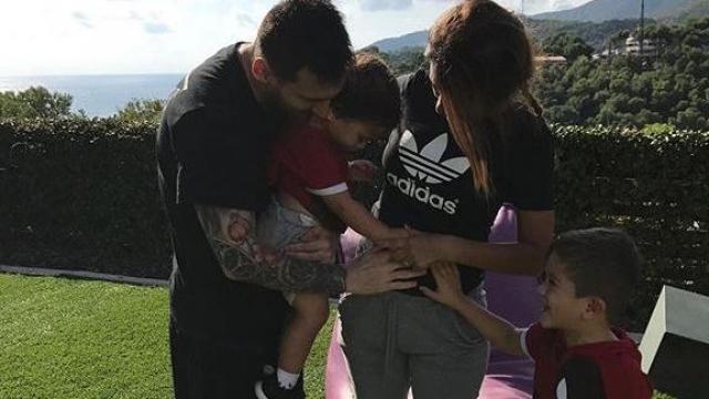 Messi et Mateo