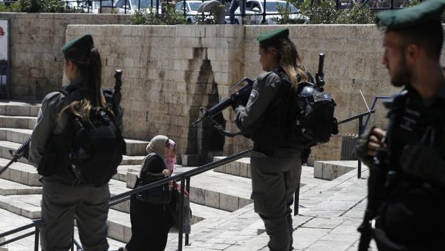 Militaires Cisjordanie