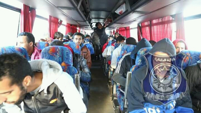 Migrants marocains en Libye