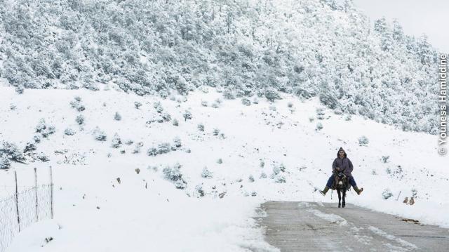 Morocco Khénifra Atlas Mountain Cold