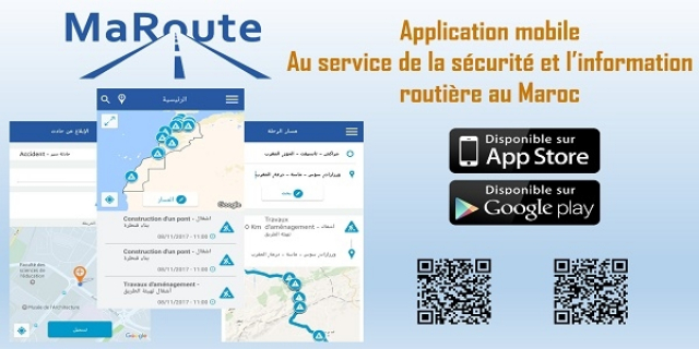 application MaRoute