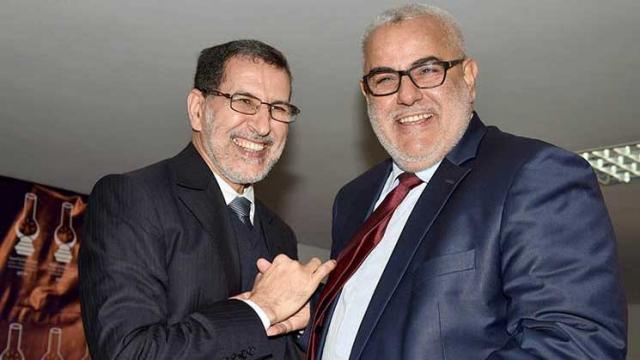 Saâd-Eddine El Othmani et Abdelilah Benkirane
