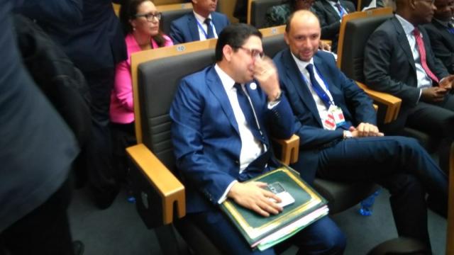 Nasser Bourita et Mohcine Jazouli