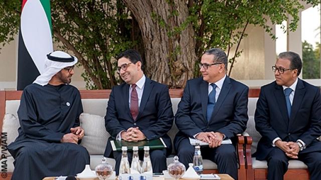 Mohamed Ben Zayed Al-Nahyan, prince héritier d'Abou Dhabi.