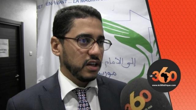 """Nourredine coordinateur Projet """"En avant la Mauritanie"""""""