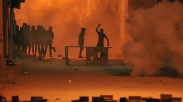 Heurts en Tunisie