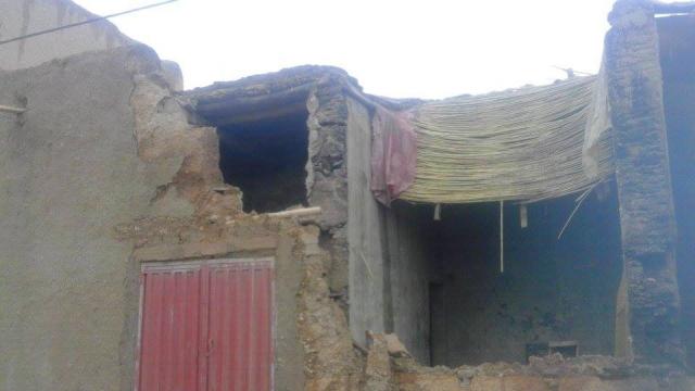 Errachidia: effondrement de 32 maisons -6
