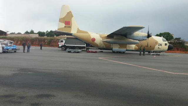 Maroc aide humanitaire à Madagascar-1