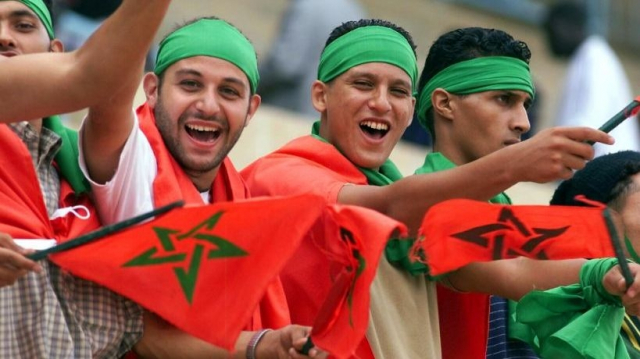 Maroc supporters