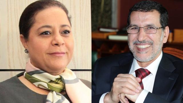 Saâd-Eddine El Othmani-Miriem Bensaleh-Chaqroun